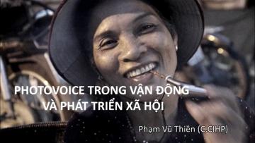 SRHR 04: Photovoice trong vận động và phát triển xã hội