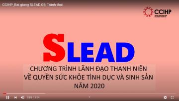 SRHR 05: Tránh thai